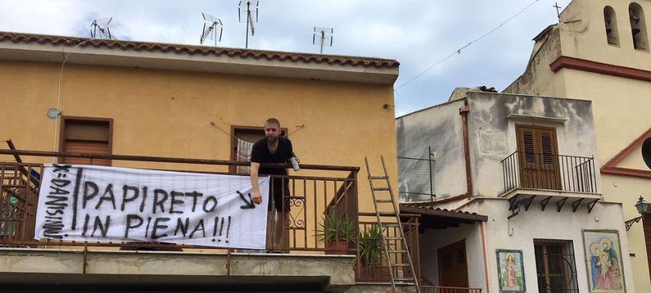 Il collettivo Xrivista a Palermo, un fiume d'artisti inonda Danisinni