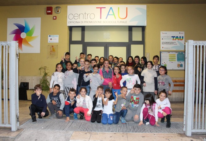 Centro Tau - ingresso
