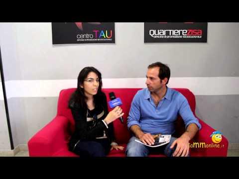 Intervista a Nicolò Bongiorno in visita al Centro TAU