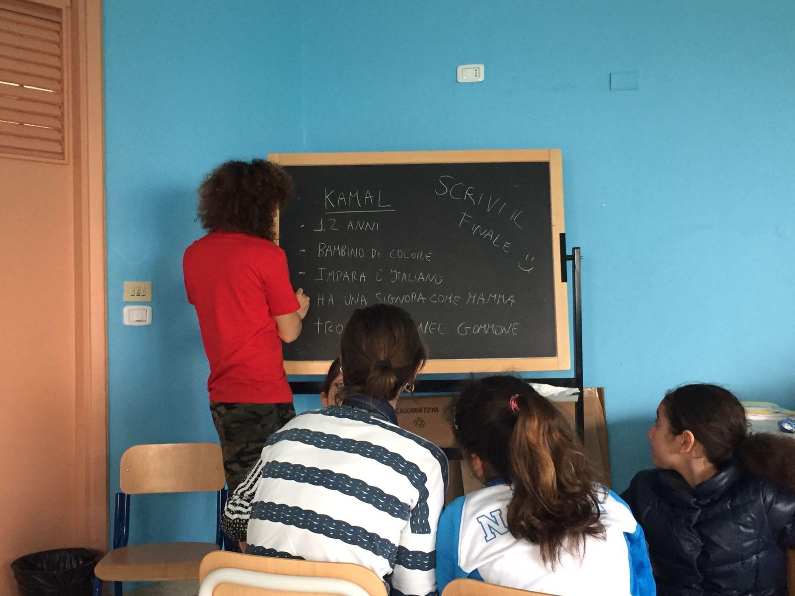 Bambine e bambini protagonisti della scuola del desiderio.